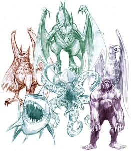 Original Drawings Of The Beasts
